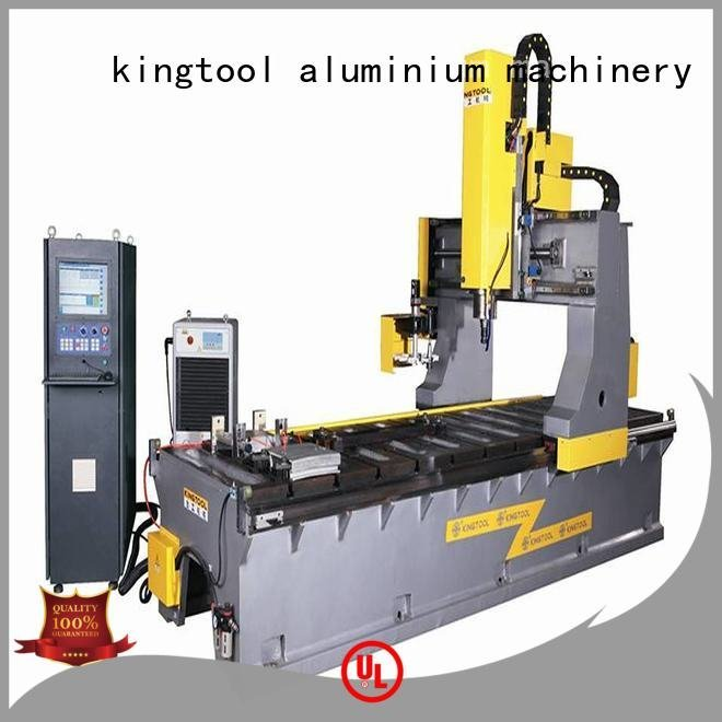 aluminium press machine milling heavyduty OEM curtain wall machine kingtool aluminium machinery