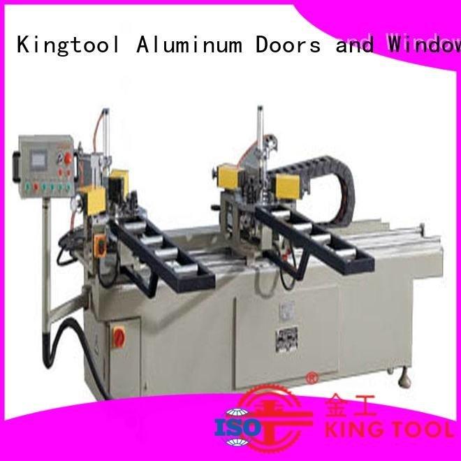 aluminium crimping machine for sale corner heavy aluminium crimping machine kingtool aluminium machinery Brand