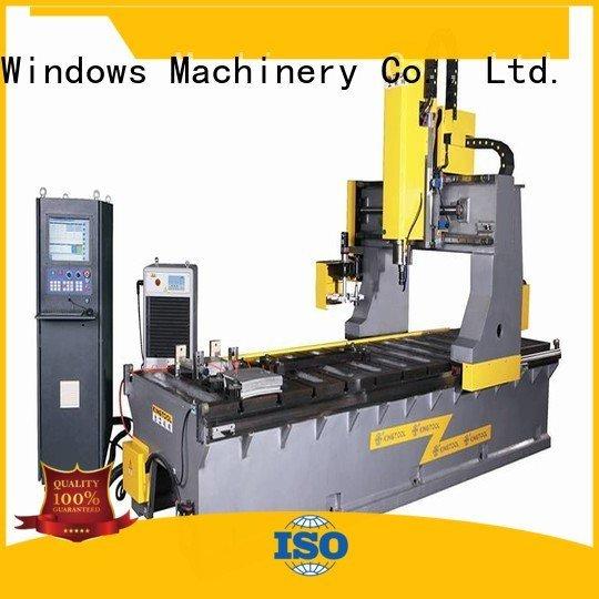 Quality aluminium press machine kingtool aluminium machinery Brand heavyduty curtain wall machine