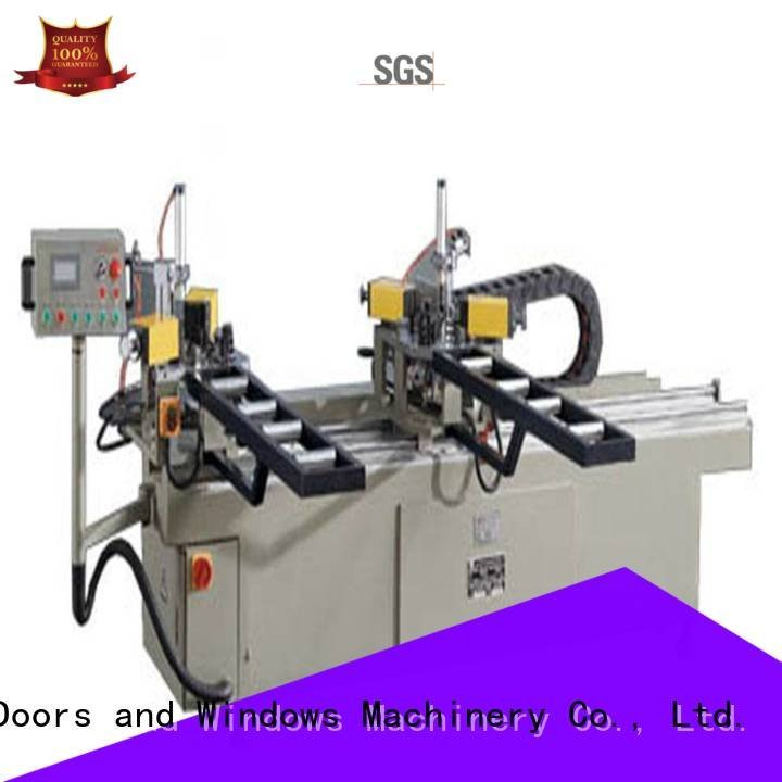 corner crimping aluminium crimping machine for sale kingtool aluminium machinery
