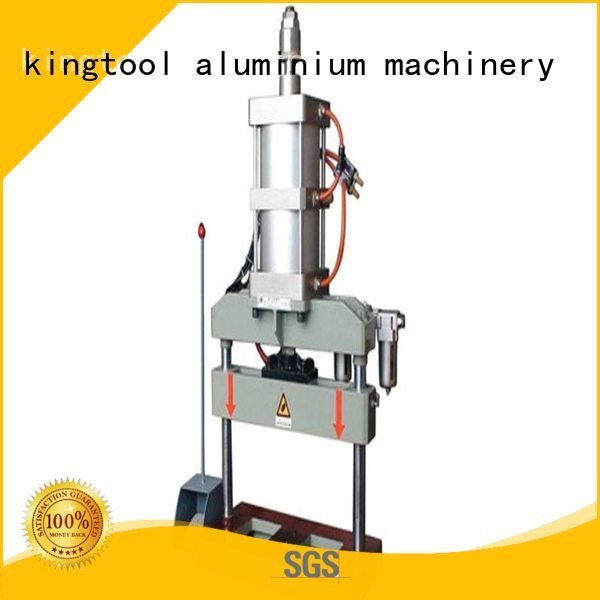 hydraulic profile oil kingtool aluminium machinery aluminum punching machine