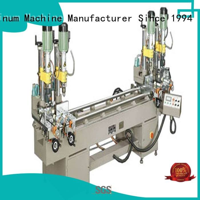 kingtool aluminium machinery ware multihead Aluminium Drilling Machine material pneumatic