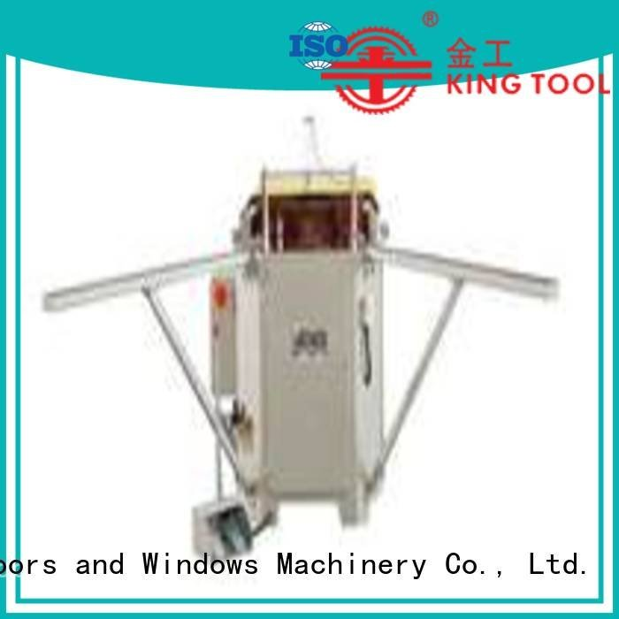 Hot aluminium crimping machine for sale heavy doubl ecorner hermalbreak kingtool aluminium machinery Brand