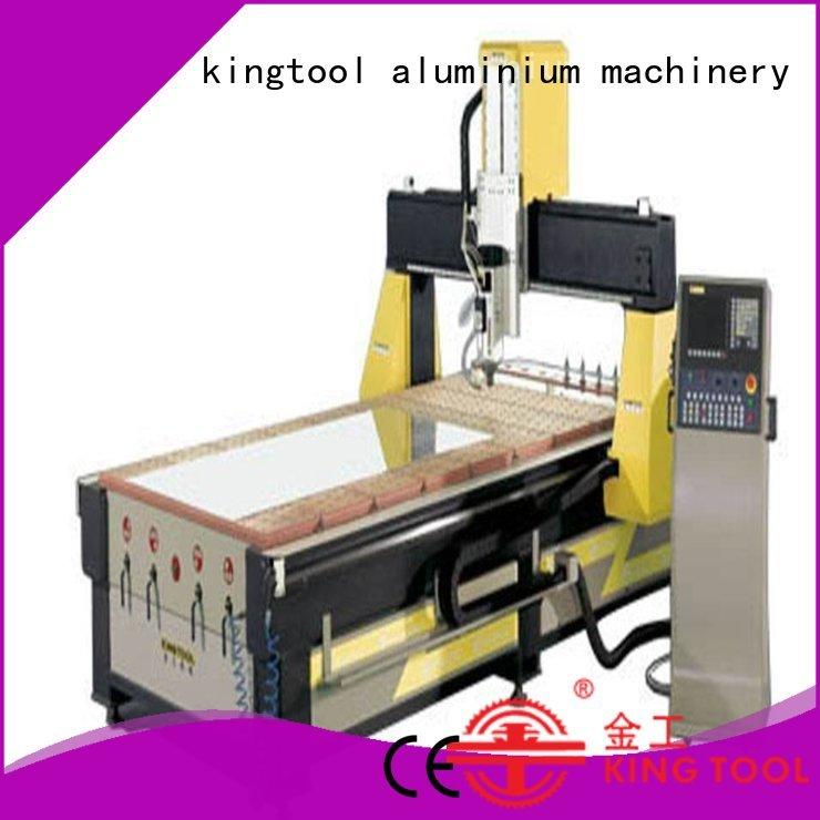Wholesale machining aluminium router machine kingtool aluminium machinery Brand