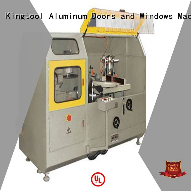 head aluminum kingtool aluminium machinery aluminum curtain wall cutting machine
