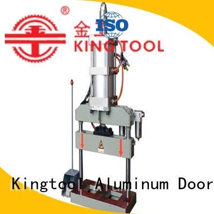 aluminium punching machine double aluminum punching machine kingtool aluminium machinery