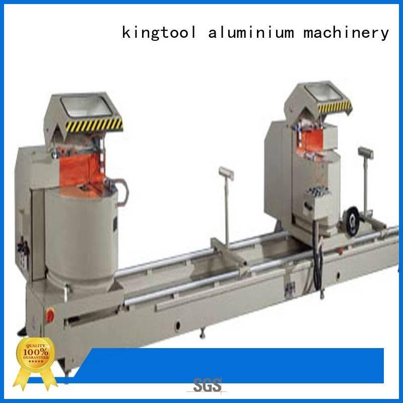 Hot aluminium cutting machine price full single duty kingtool aluminium machinery Brand