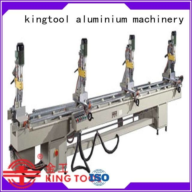 drilling and milling machine pneumatic Aluminium Drilling Machine kingtool aluminium machinery Brand