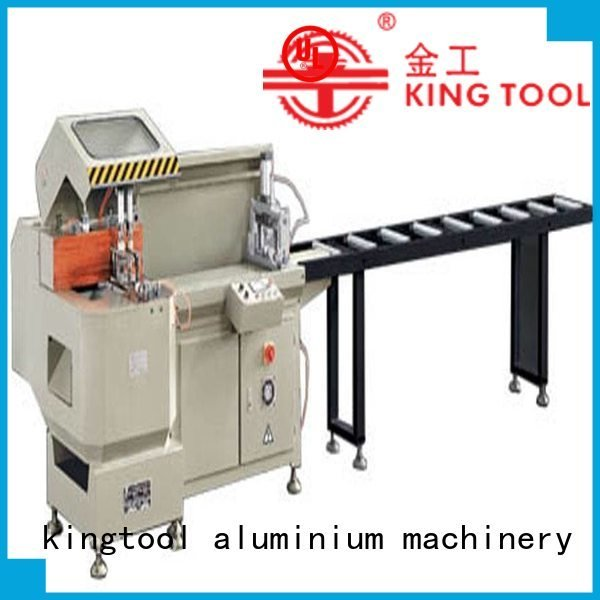 automatic curtain thermalbreak heavyduty kingtool aluminium machinery aluminium cutting machine price