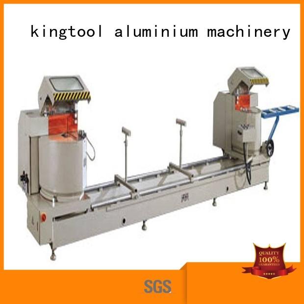 Wholesale curtain aluminium cutting machine kingtool aluminium machinery Brand