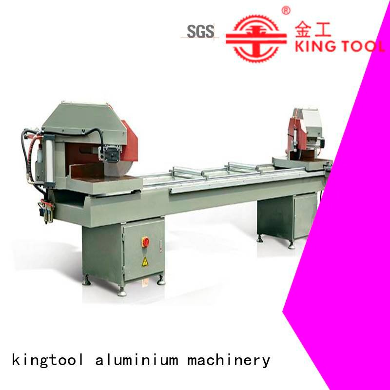 saw 2axis heavy mitre kingtool aluminium machinery aluminium cutting machine