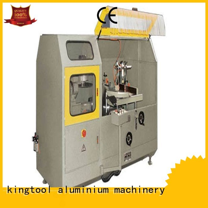 curtain single head cutting aluminum curtain wall cutting machine kingtool aluminium machinery Brand
