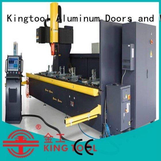 kingtool aluminium machinery cnc router aluminum double center cnc aluminium