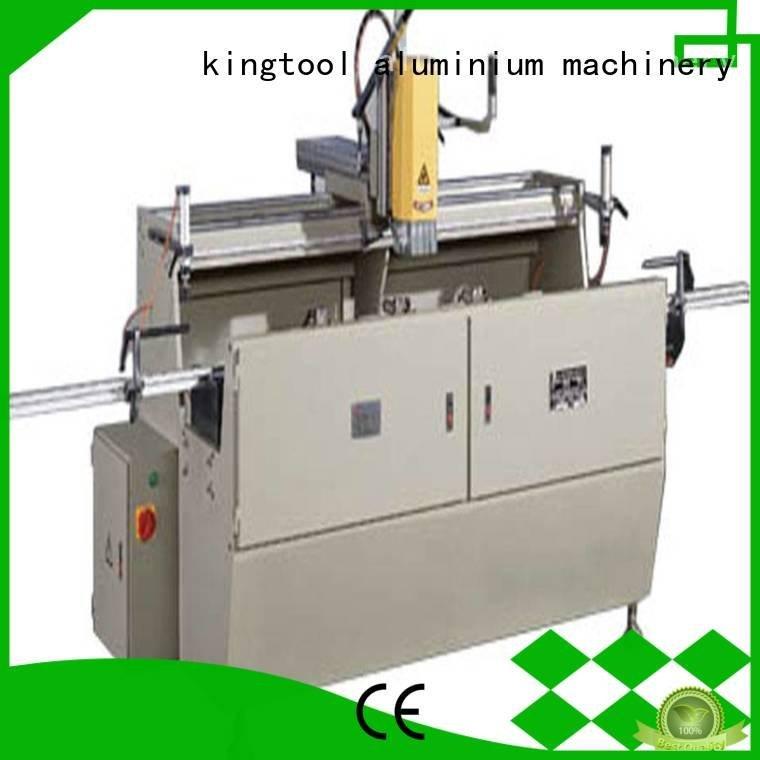axis aluminium router machine drilling single kingtool aluminium machinery