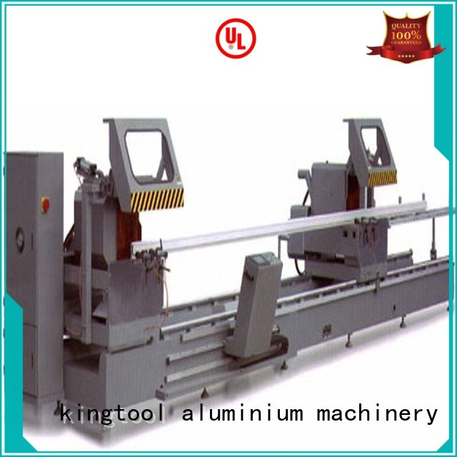 various curtain aluminium cutting machine price 2axis kingtool aluminium machinery company