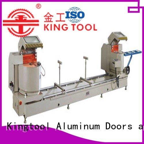 aluminium cutting machine price auto feeding aluminium cutting machine kingtool aluminium machinery Brand