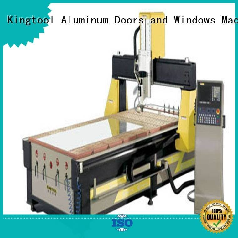 kingtool aluminium machinery machining panel profile cnc router aluminum aluminium