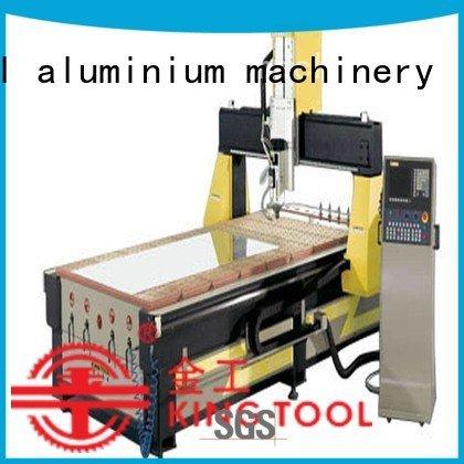 kingtool aluminium machinery Brand cutting aluminium router machine