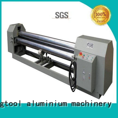 machine bending automatic 3roller kingtool aluminium machinery aluminium bending machine