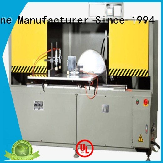OEM aluminum curtain wall cutting machine wall cutting aluminum curtain wall machinery