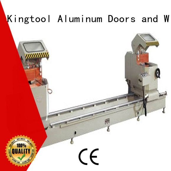 automatic saw cnc aluminium cutting machine kingtool aluminium machinery Brand company