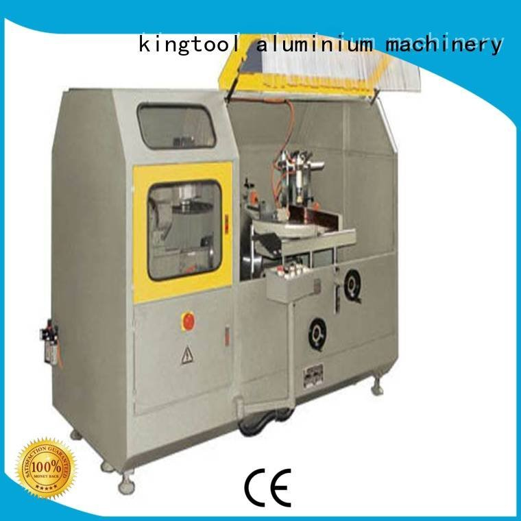 saw aluminum curtain wall cutting machine machine cutting kingtool aluminium machinery
