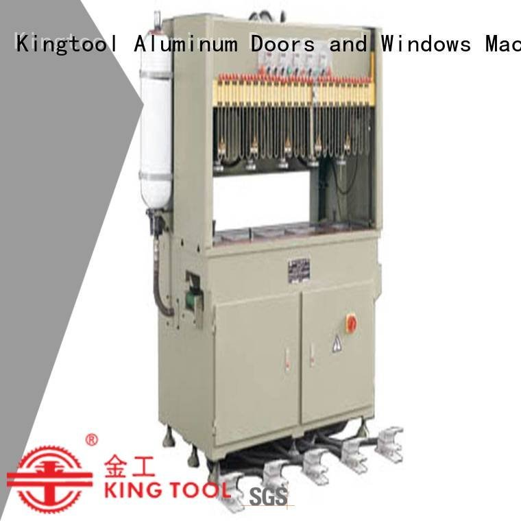 aluminium punching machine kt373a kt373 column pnumatic kingtool aluminium machinery