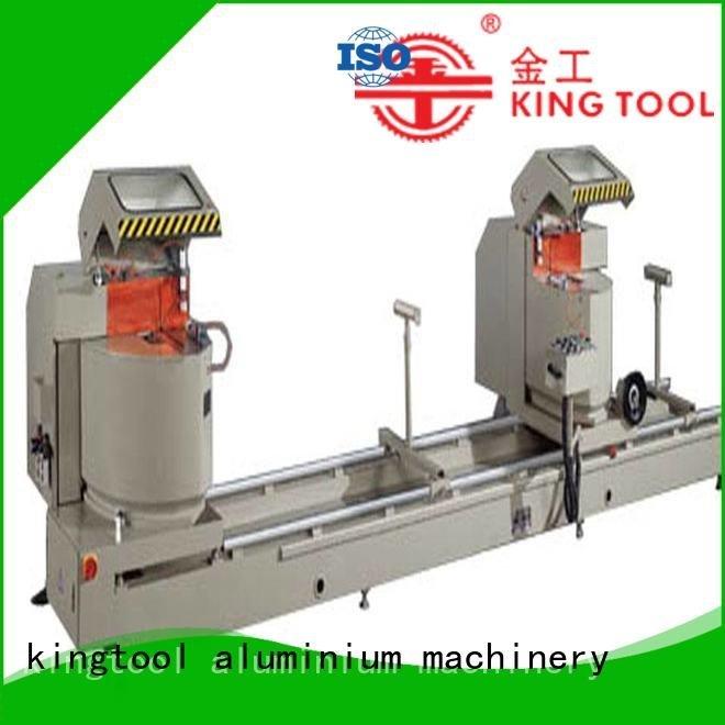 Custom aluminium cutting machine manual mitre head kingtool aluminium machinery