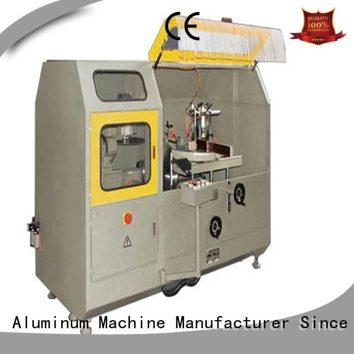 kingtool aluminium machinery aluminum curtain wall machinery wall machine cutting
