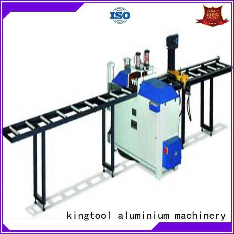 Hot aluminium cutting machine price kt328b curtain kt323 kingtool aluminium machinery Brand