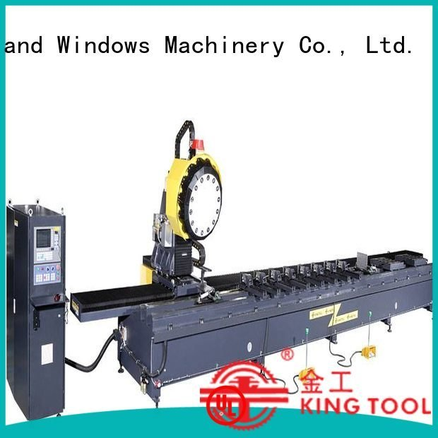industrial aluminium router machine panel router kingtool aluminium machinery