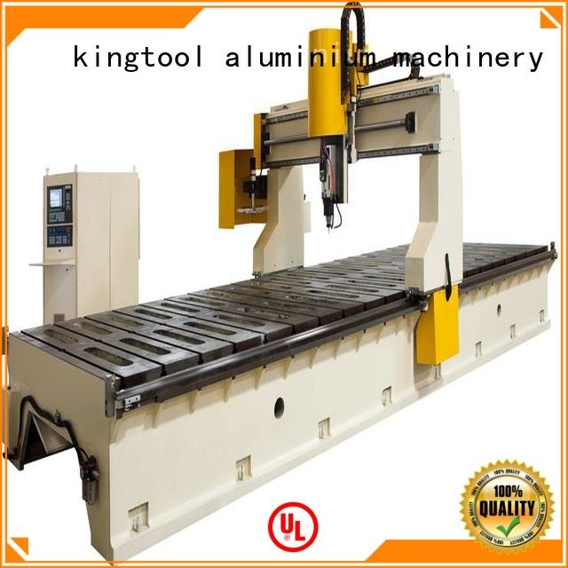 kingtool aluminium machinery Brand aluminum aluminium 3axis aluminium router machine panel