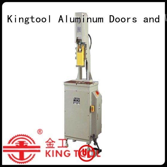seated double aluminum kingtool aluminium machinery aluminum punching machine