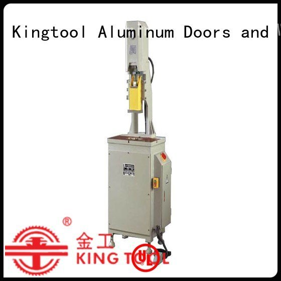 seated double aluminum kingtool aluminium machinery aluminum punching machine