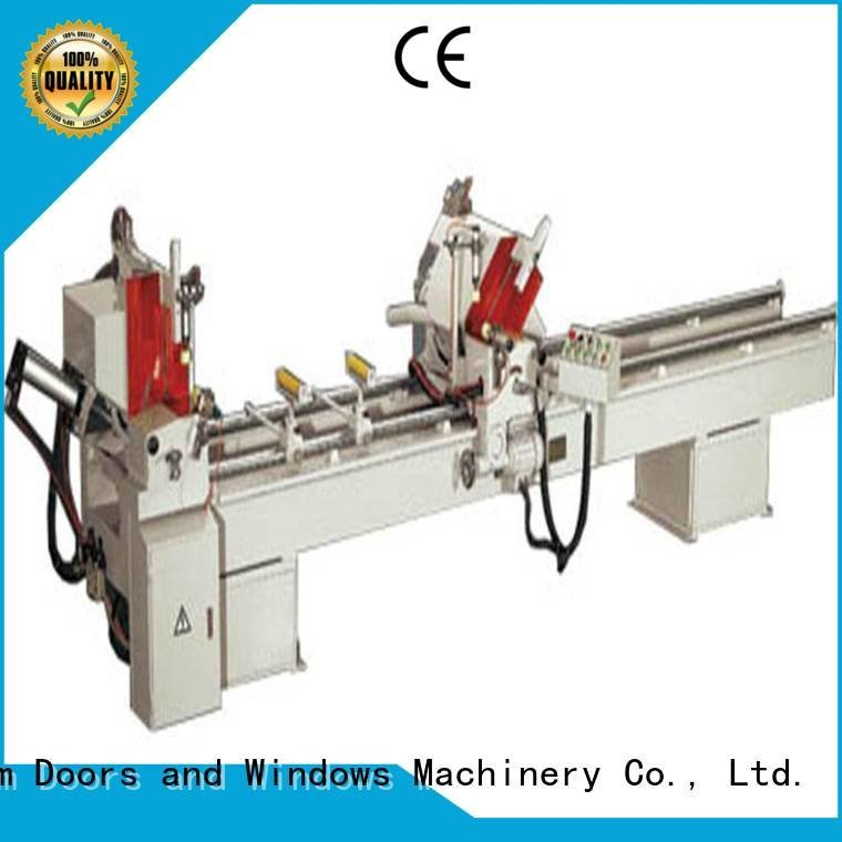 kingtool aluminium machinery window single aluminium cutting machine heavy auto feeding