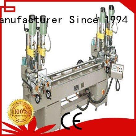 ware aluminum multihead drilling and milling machine kingtool aluminium machinery