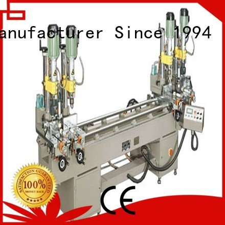 ware aluminum multihead drilling and milling machine kingtool aluminium machinery