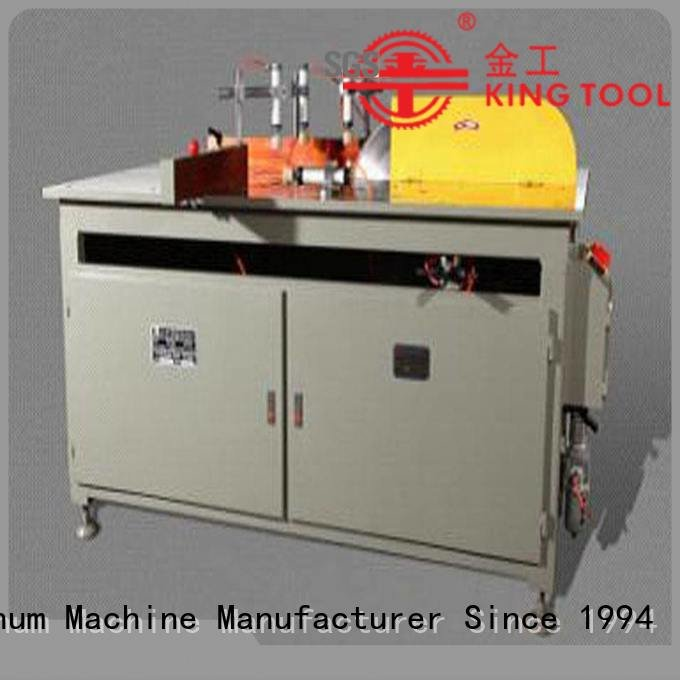 Hot aluminium cutting machine price wall curtain 2axis kingtool aluminium machinery Brand