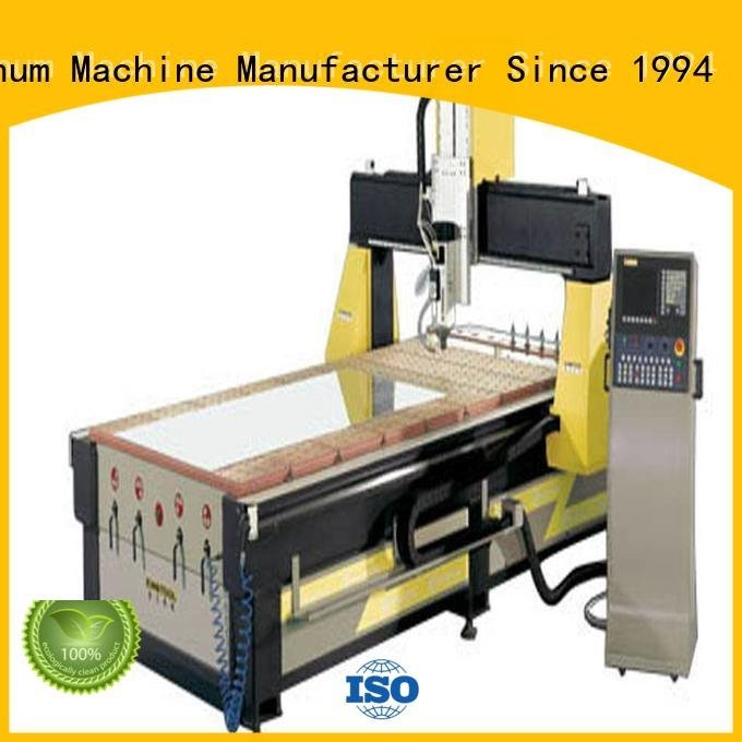 kingtool aluminium machinery cutting aluminium aluminum cnc router aluminum double