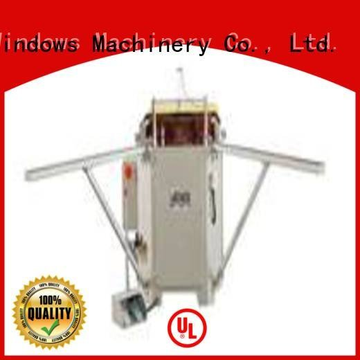 crimping hermalbreak machine doubl ecorner kingtool aluminium machinery aluminium crimping machine