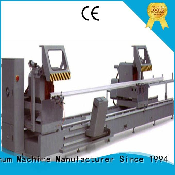 kingtool aluminium machinery Brand multifunction thermalbreak aluminium cutting machine price double heavy