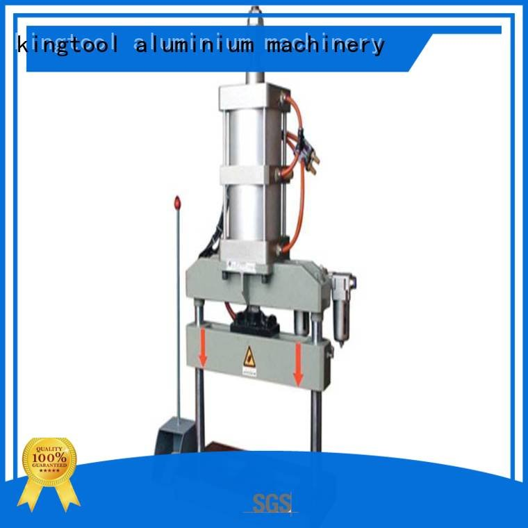 kingtool aluminium machinery Brand fourcolumn kt373 aluminum aluminum punching machine oil