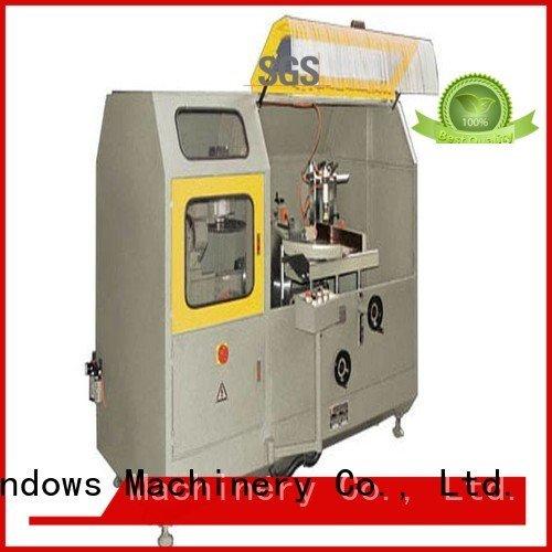 aluminum curtain wall machinery saw machine aluminum curtain wall cutting machine kingtool aluminium machinery Warranty