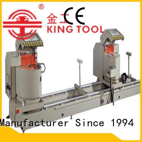 kingtool aluminium machinery Brand head angle duty aluminium cutting machine various