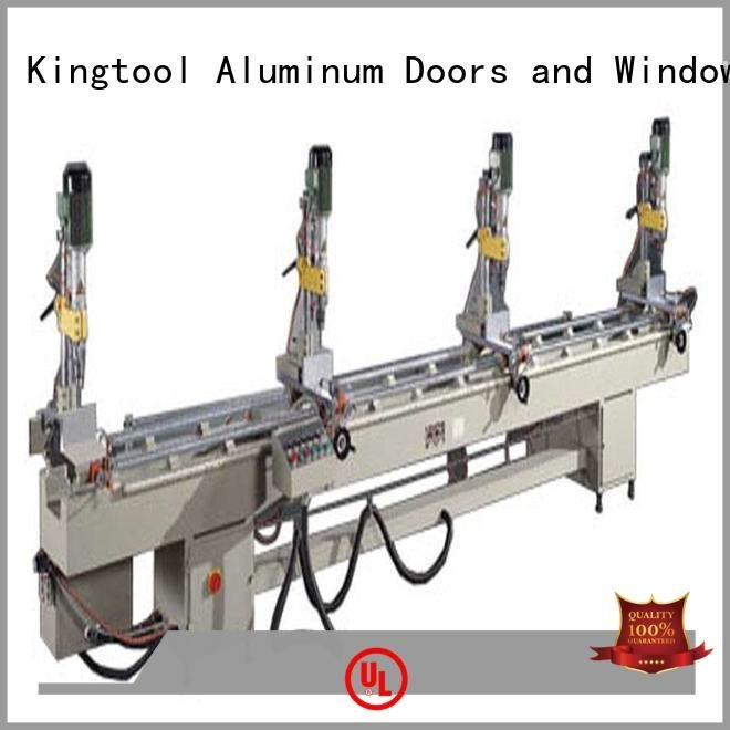 kingtool aluminium machinery Brand pneumatic multihead machine drilling and milling machine