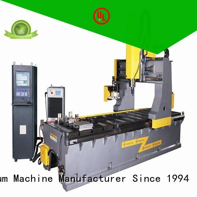 bending end aluminium press machine kingtool aluminium machinery