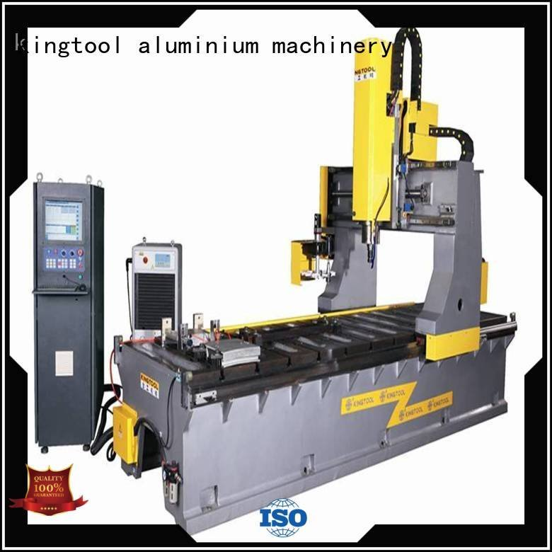 bending curtain wall machine kingtool aluminium machinery aluminium press machine