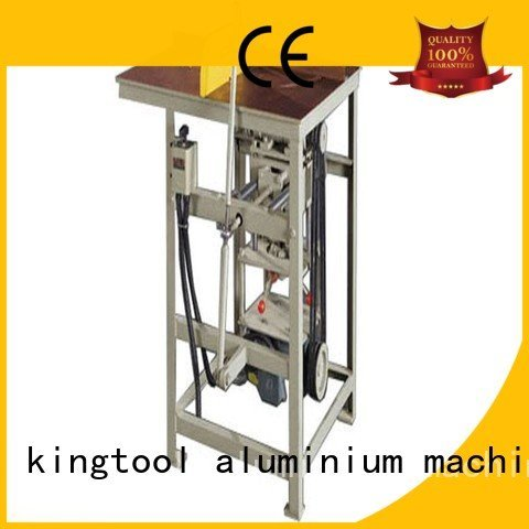 Hot aluminium cutting machine price full aluminium cutting machine profile kingtool aluminium machinery