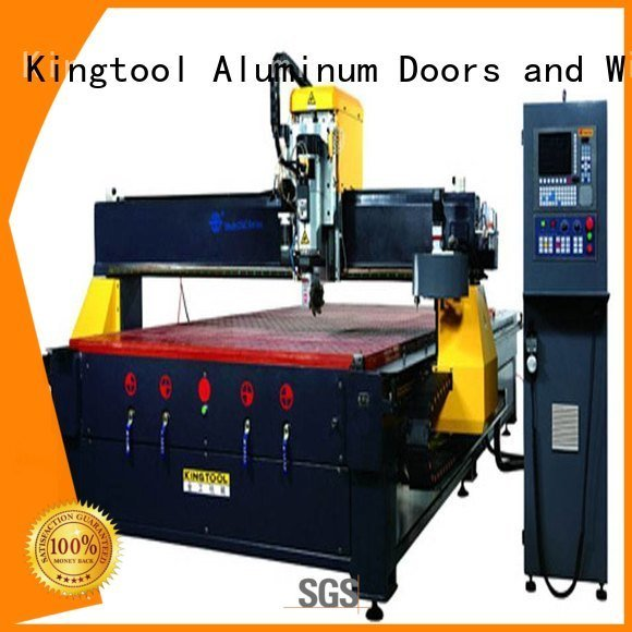 kingtool aluminium machinery cnc router aluminum center panel double machine