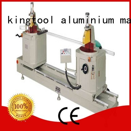 edge digital notching machine sanitary profile cutting machine kingtool aluminium machinery Brand